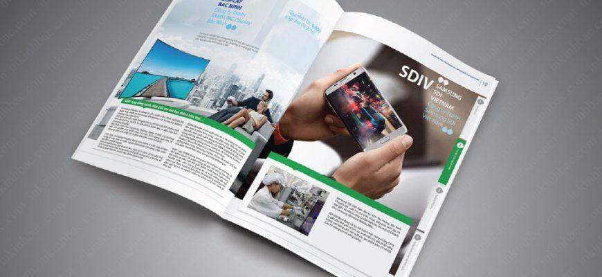 In Catalogue cao cấp giá rẻ với thiết kế ấn tượng