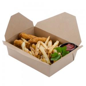 Chất lượng hàng đầu khi in hộp giấy đựng thức ăn nhanh tại công ty in bao bì Thăng Long