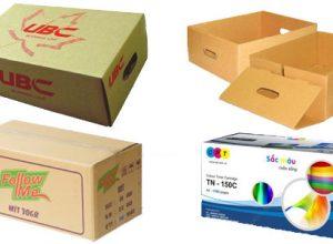 In thùng bìa carton với nhiều kích thước khác nhau