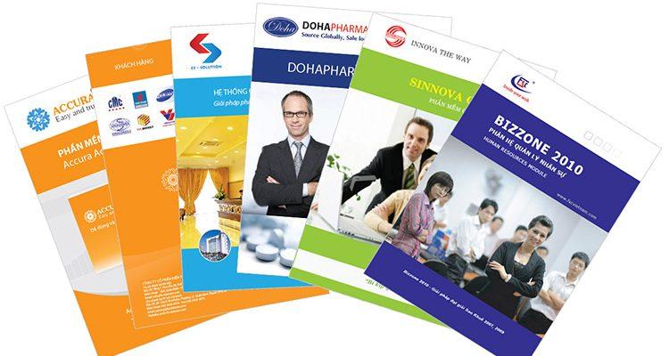 Dịch vụ in catalogue giá rẻ tại xưởng với màu sắc sang trọng