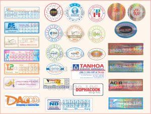 In tem chống hàng giả chất lượng và đa dạng kiểu dáng