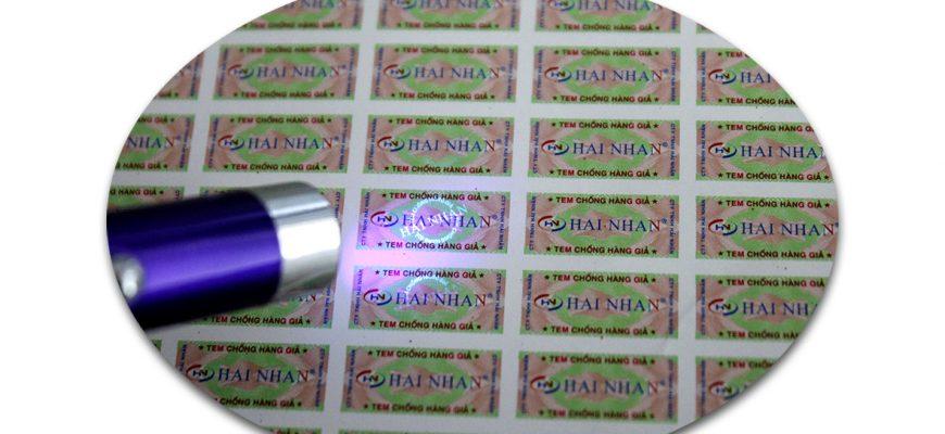 In tem chống hàng giả ở đâu chất lượng và uy tín