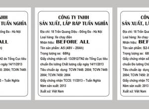 Cung ứng dịch vụ in tem phụ giá rẻ mọi thời điểm